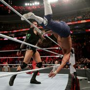 Randy Orton thrown out Andrade Clen Almas