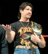 Eddie as Intercontinenal Champions