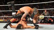 Heath-Slater rollup pin on Seth-Rollins