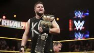 Kevin as NXT Champions