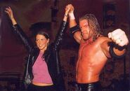 Triple H-and Stephanie
