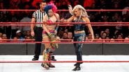 Dana Brooke slap Asuka face