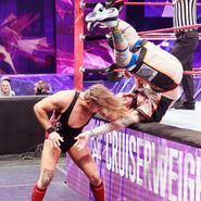 Dunne puts Amore onto the apron