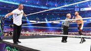 Shane McMahon fights Sami Zayn