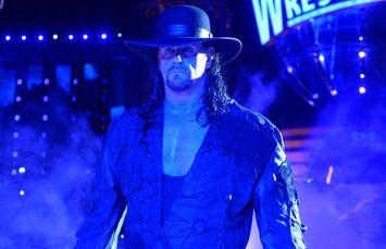Undertaker staring