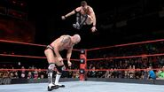 Finn Balor landed a stomps to Cesaro