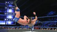 Roode hits the neckbreaker on Mahal