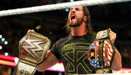 Seth Rollins as WWE and United States