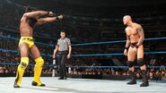 Kofi against Randy Orton