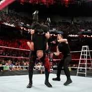 Ambrose save Kurt-Angle from Kane