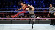 Nakamura delivered a kick to English