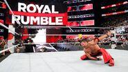Shinsuke Nakamura win the Royal Rumble Match