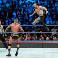 English jumps off on Orton