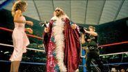 Randy with Elizabeth WrestleMania 3 1987