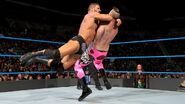 Roode hitted Kanellis