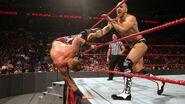 Cesaro took out Heath-Slater