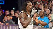 R-Truth rappin