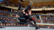 Kane fighting Bray Wyatt