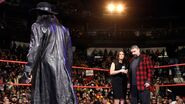 Undertaker mickfoley and Stephanie RAW