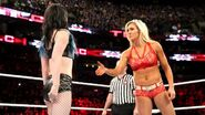 Paige against Charlotte in TLC