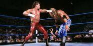 Eddie fighting Edge