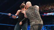 Erick fighting Luke