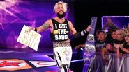 Enzo-Amore with the Cruiserweight Champion