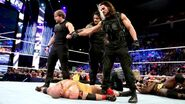 Shield destorying Ryback