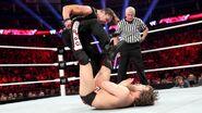 Ambrose stomps at Bryan