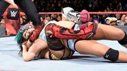Asuka brings down her opponent