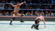 Mike-Kanellis bout to hit the Glorious DDT from Roode
