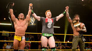 Neville and Graves with Sheamus