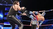Sin-Cara dropkick at Baron-Corbin
