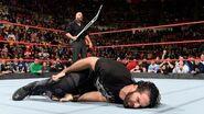 Triple H attack Seth Rollins