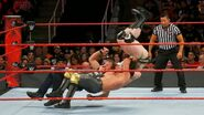 Ambrose and Rollins suplex Sheamus