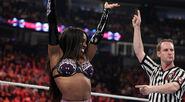 Naomi winning victory