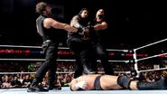 Shield wins against Triple-H