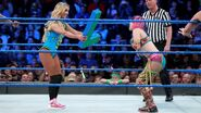 Carmella literally gives Asuka adversary an L