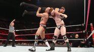 Sheamus and Cesaro lift Dean-Ambrose
