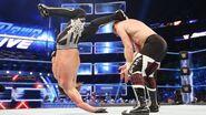 Styles back kick Sami
