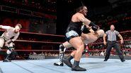 Rhyno attack Cesaro