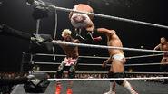 Scott-Dawson and Dash-Wilder fighting Enzo NXTTakeover-London