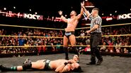 Bobby-Roode defeated Tye NXT Champion contender