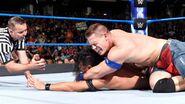 John-Cena putting Nakamura in submission