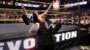 Sami Zayn powerbomb by Kevin Owens at Revolution