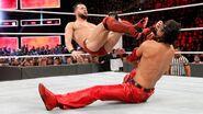 Balor dropkick Nakamura