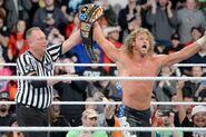 Dolph Ziggler winning the United States Champion