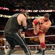 Roode kicks Corbin