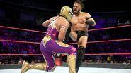 Neville kicks Metalik