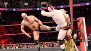 Cesaro and Sheamus kicks Tyler Breeze